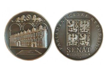 Silver Commemorative Medal of the Senate of the Parliament of the Czech Republic